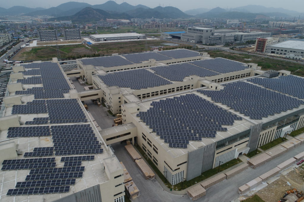 5MW- rooftop factory